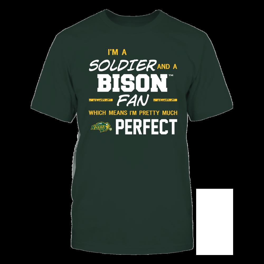 North Dakota State Bison - Perfect Solider - Team Front picture