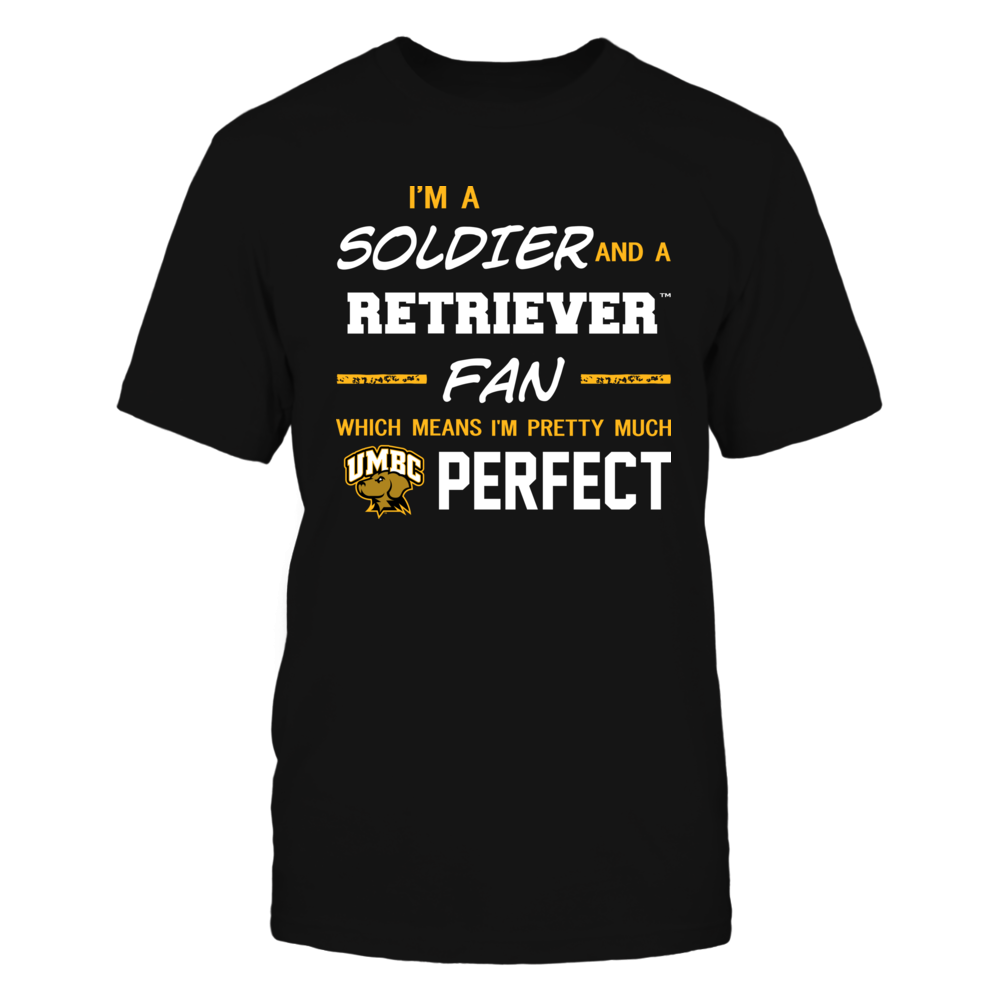 UMBC Retrievers - Perfect Solider - Team Front picture
