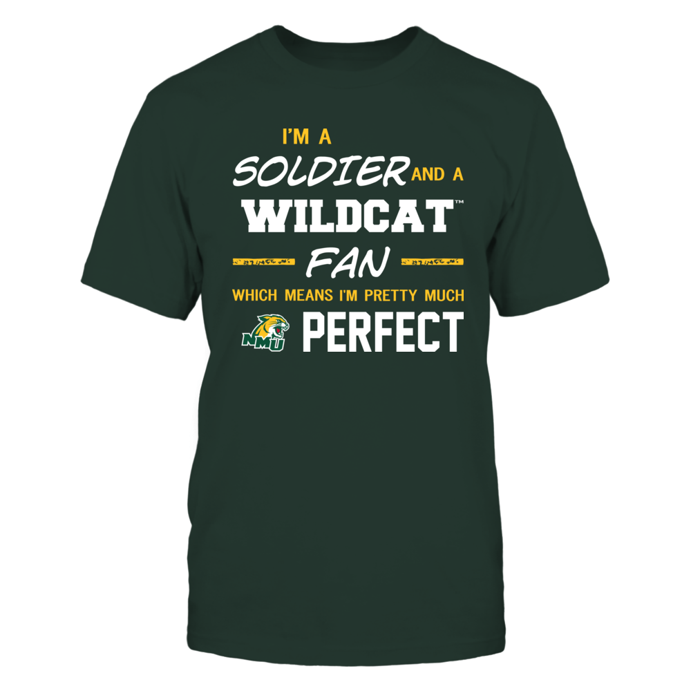 Northern Michigan Wildcats - Perfect Solider - Team Front picture