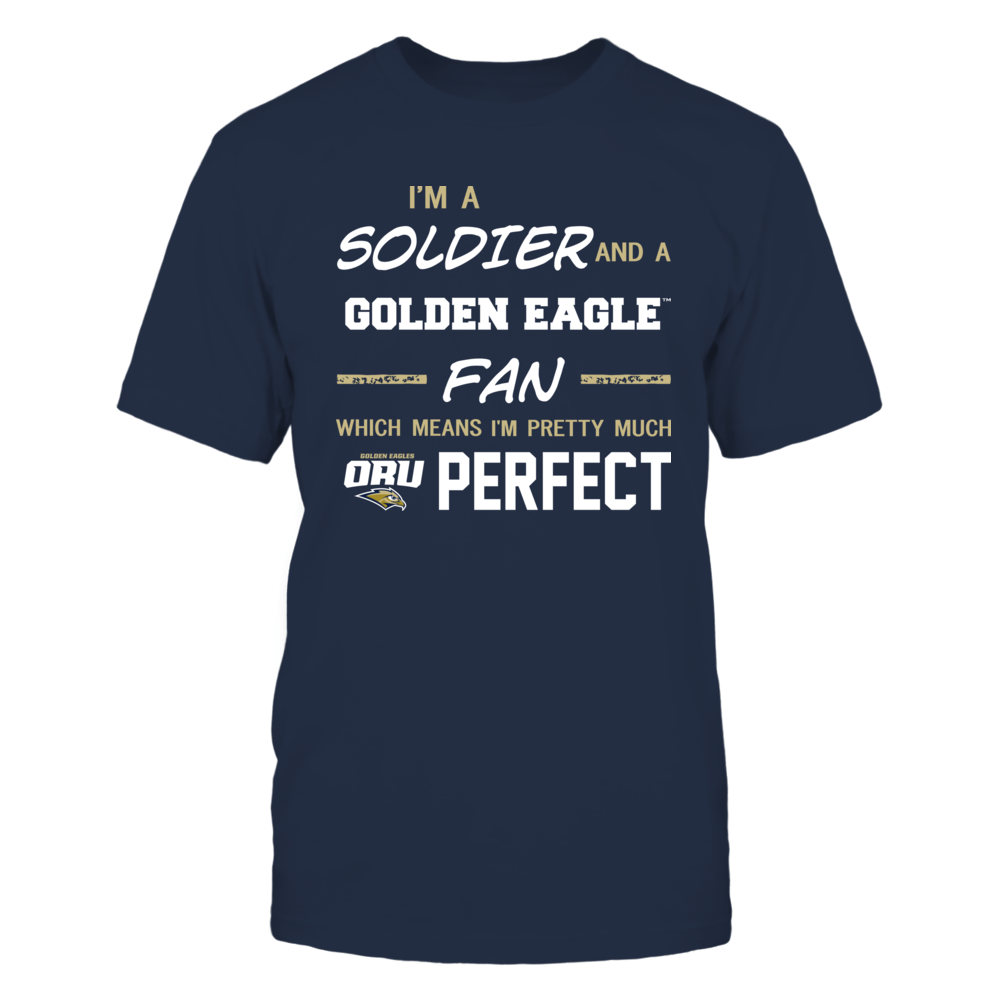 Oral Roberts Golden Eagles - Perfect Solider - Team Front picture