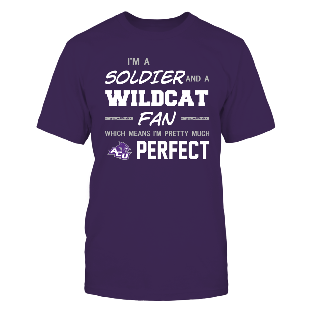 Abilene Christian Wildcats - Perfect Solider - Team Front picture