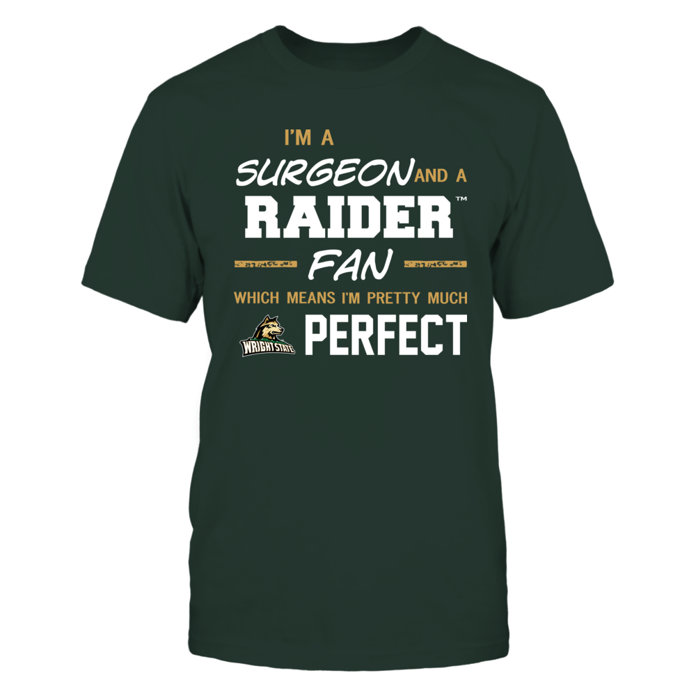 Wright State Raiders - Perfect Surgeon - Team Front picture