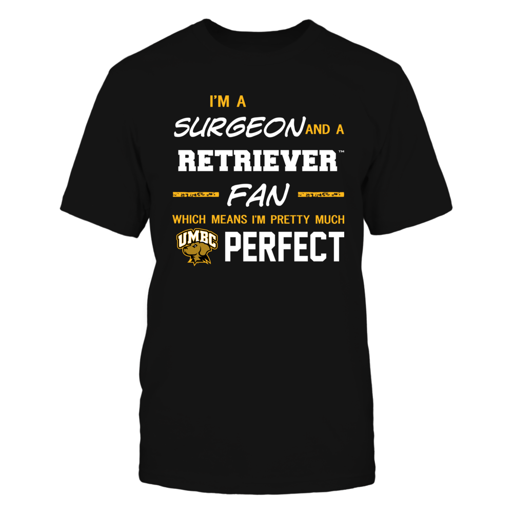 UMBC Retrievers - Perfect Surgeon - Team Front picture