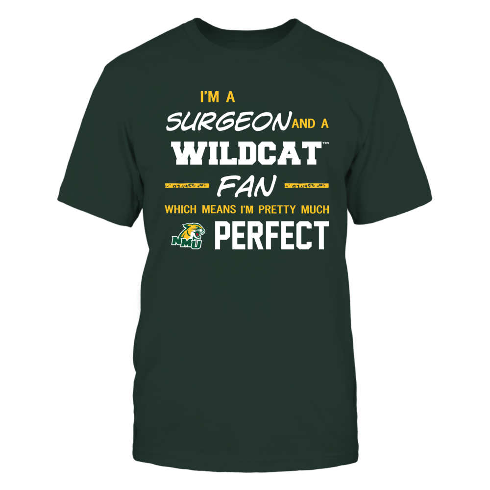 Northern Michigan Wildcats - Perfect Surgeon - Team Front picture