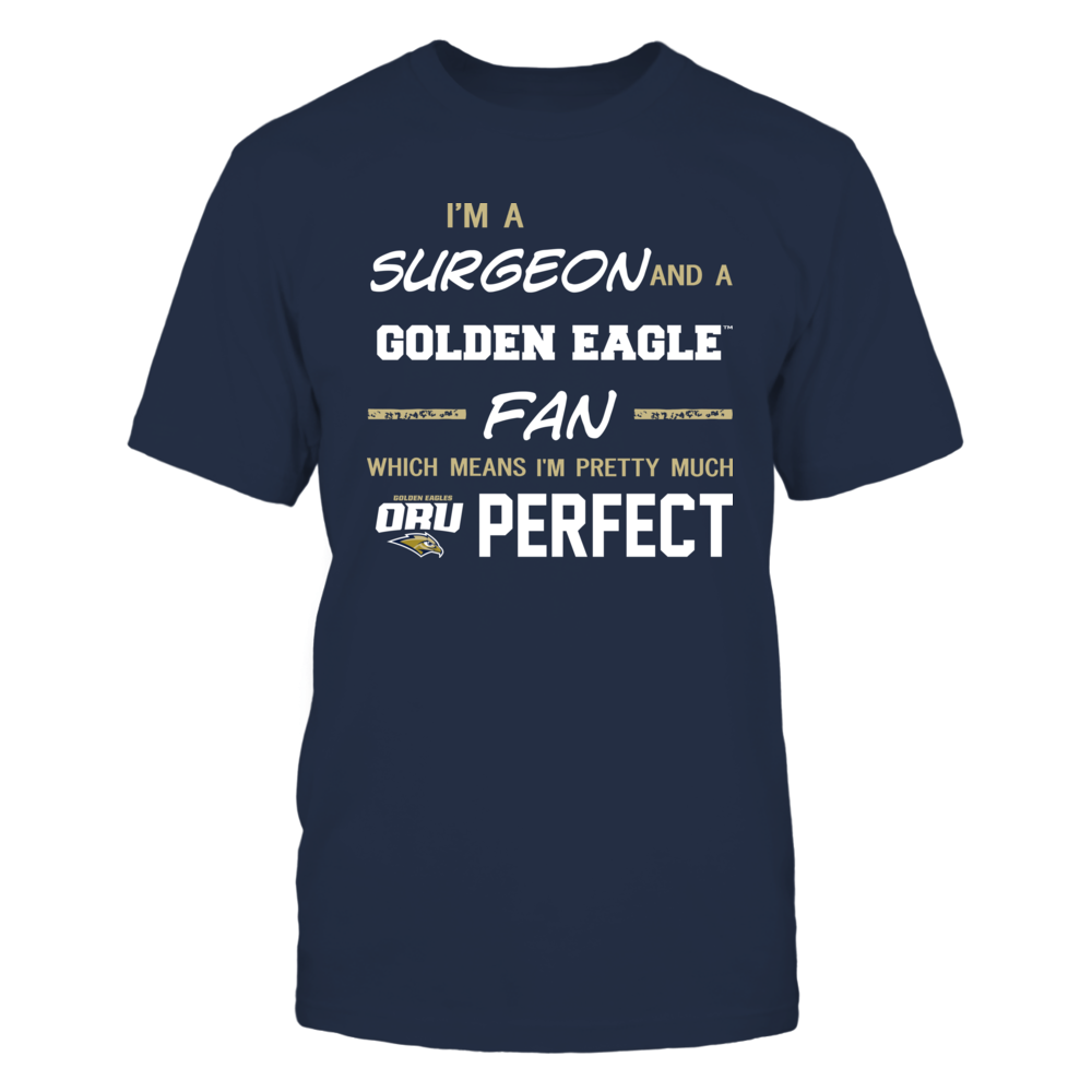 Oral Roberts Golden Eagles - Perfect Surgeon - Team Front picture