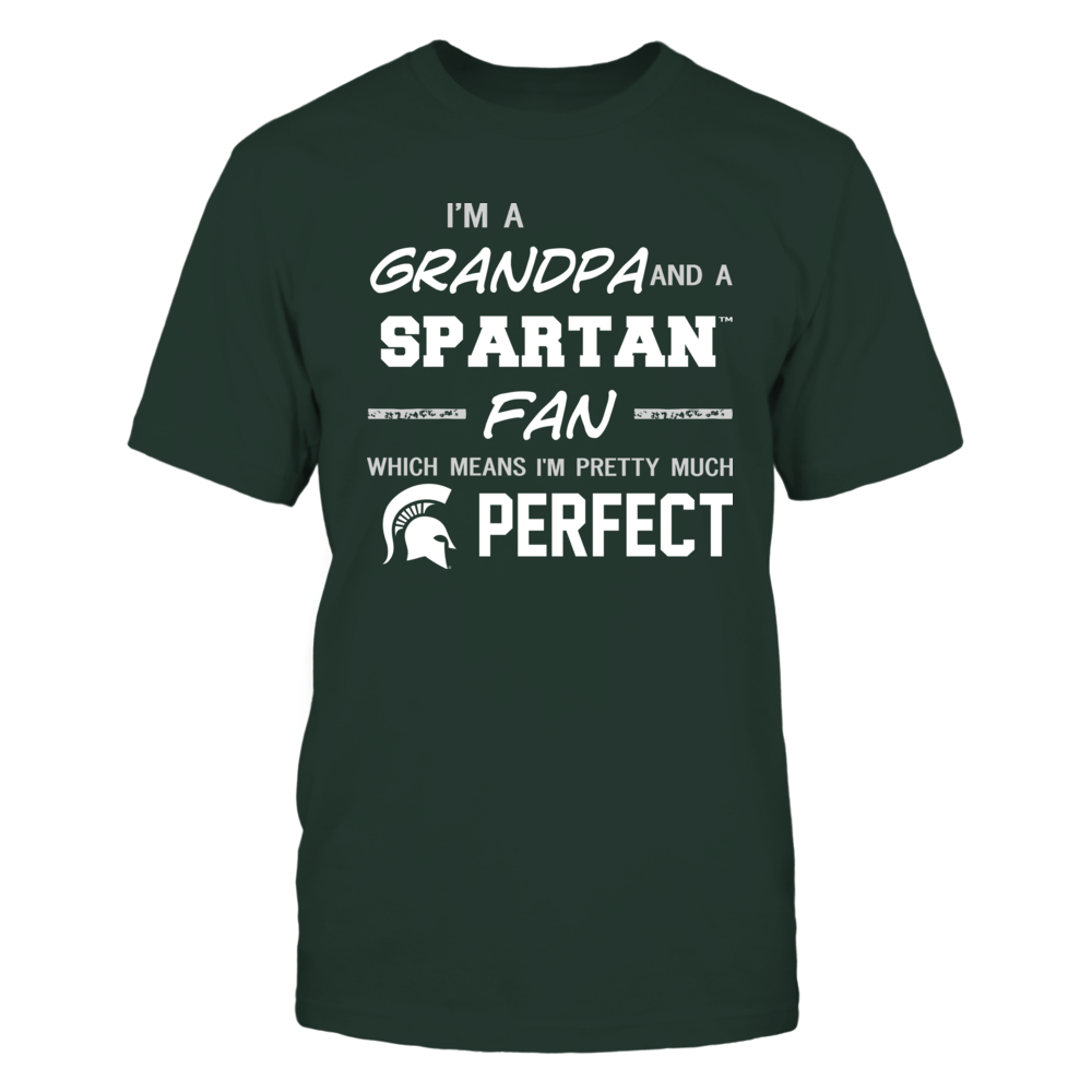 Michigan State Spartans - Perfect Grandpa - Team Front picture