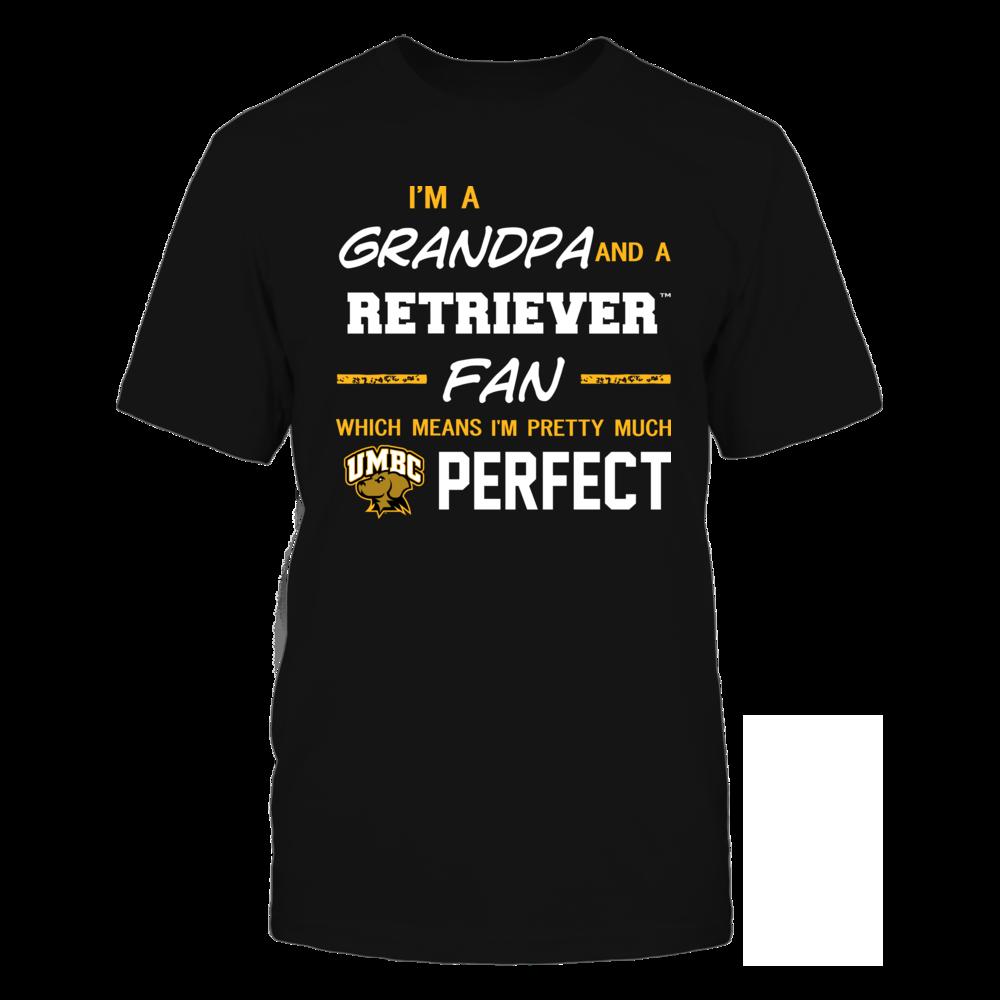 UMBC Retrievers - Perfect Grandpa - Team Front picture