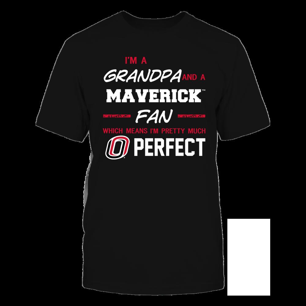 Nebraska Omaha Mavericks - Perfect Grandpa - Team Front picture
