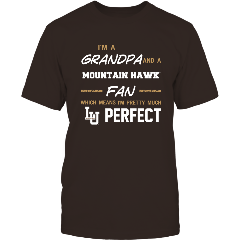 Lehigh Mountain Hawks - Perfect Grandpa - Team Front picture