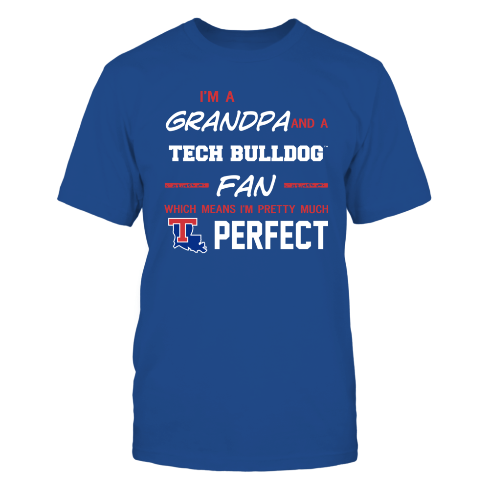 Louisiana Tech Bulldogs - Perfect Grandpa - Team Front picture