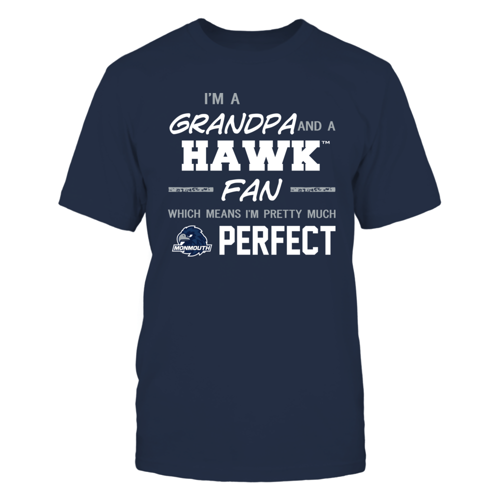 Monmouth Hawks - Perfect Grandpa - Team Front picture