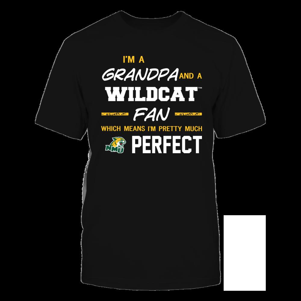 Northern Michigan Wildcats - Perfect Grandpa - Team Front picture