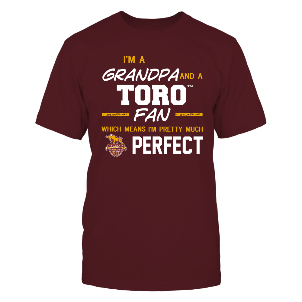 Cal State Dominguez Hills Toros - Perfect Grandpa - Team Front picture