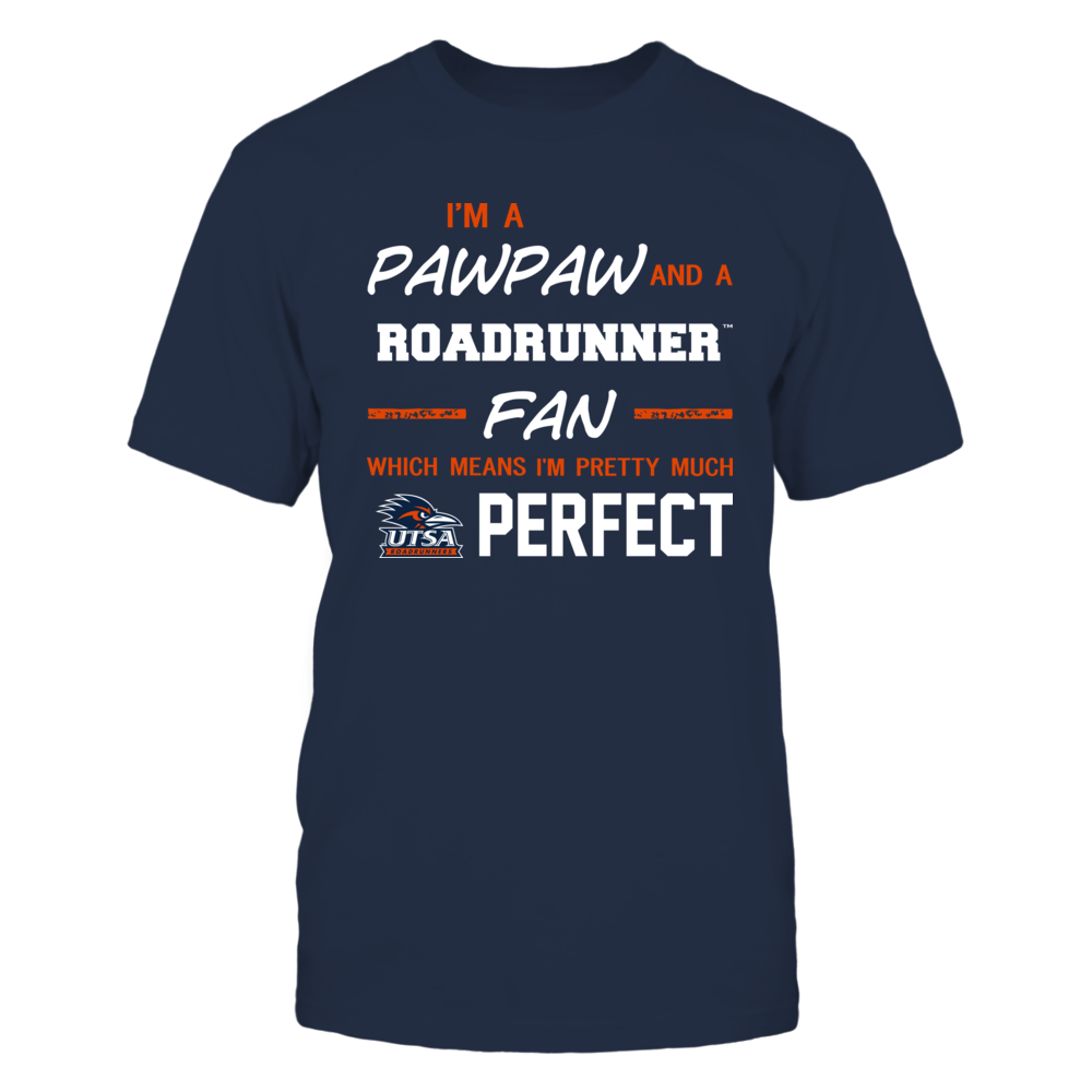 UTSA Roadrunners - Perfect Pawpaw - Team Front picture