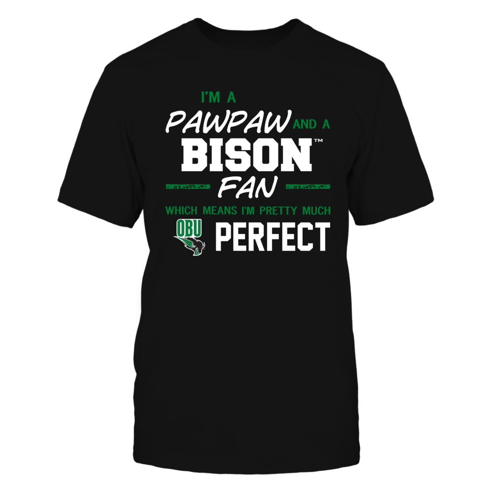 Oklahoma Baptist Bison - Perfect Pawpaw - Team Front picture