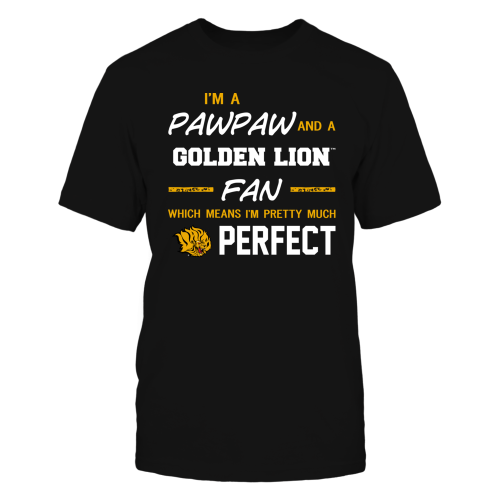 Arkansas Pine Bluff Golden Lions - Perfect Pawpaw - Team Front picture