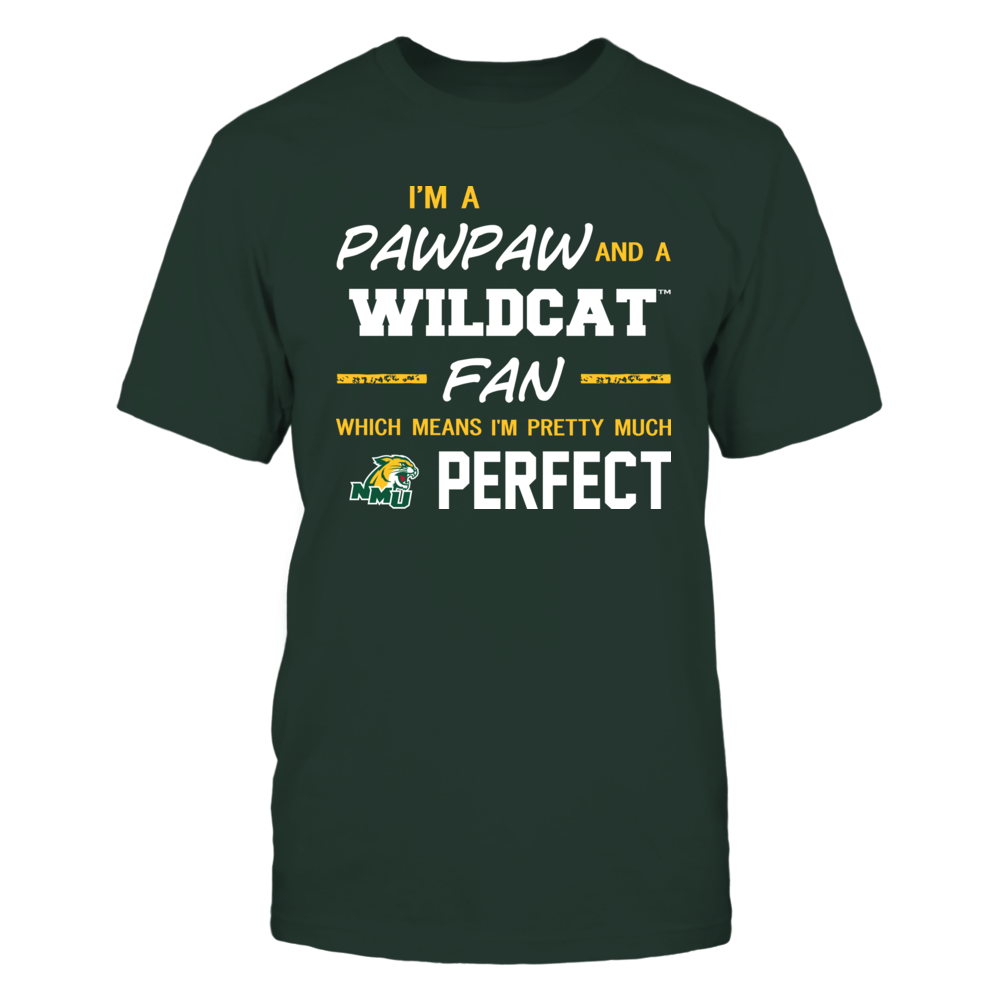 Northern Michigan Wildcats - Perfect Pawpaw - Team Front picture