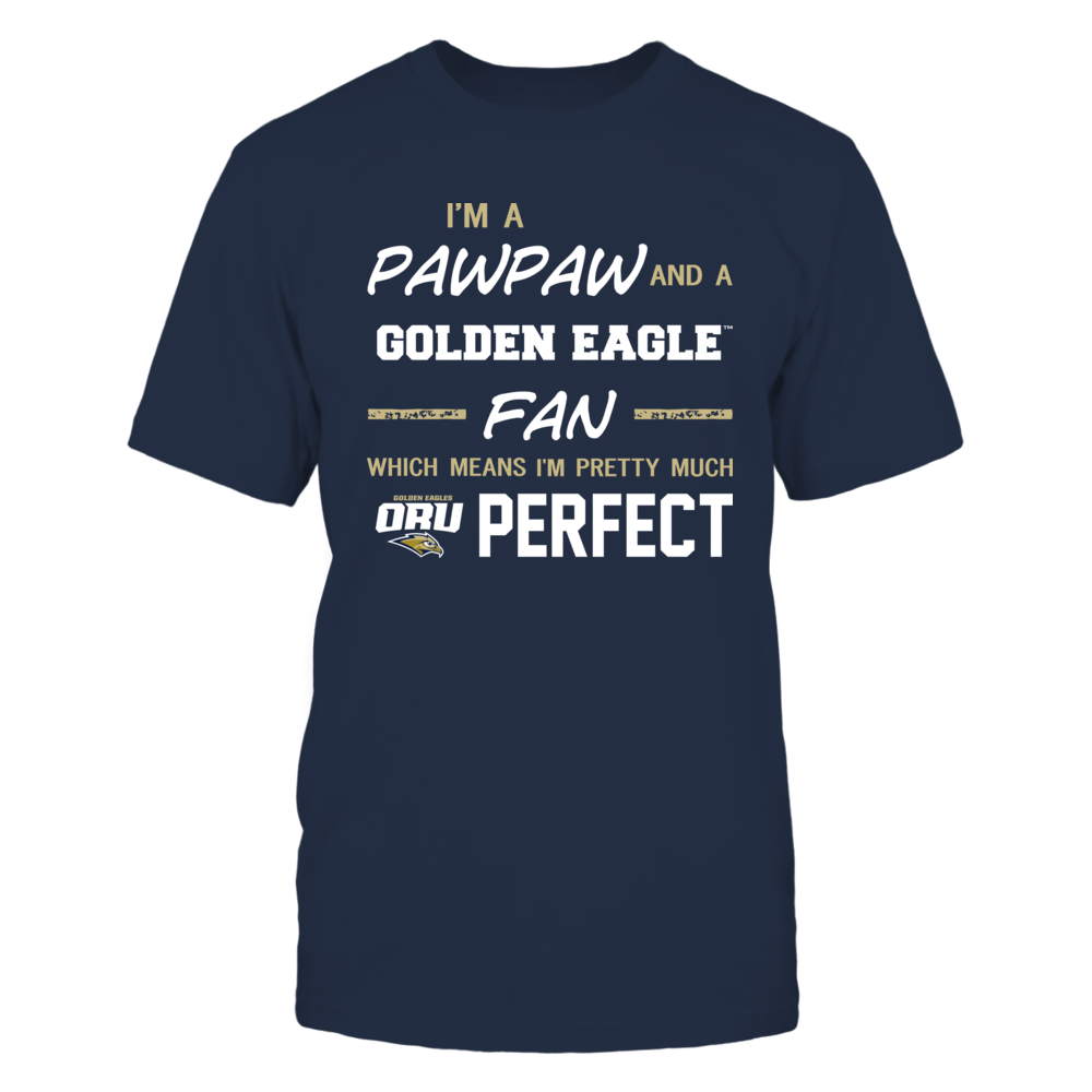 Oral Roberts Golden Eagles - Perfect Pawpaw - Team Front picture