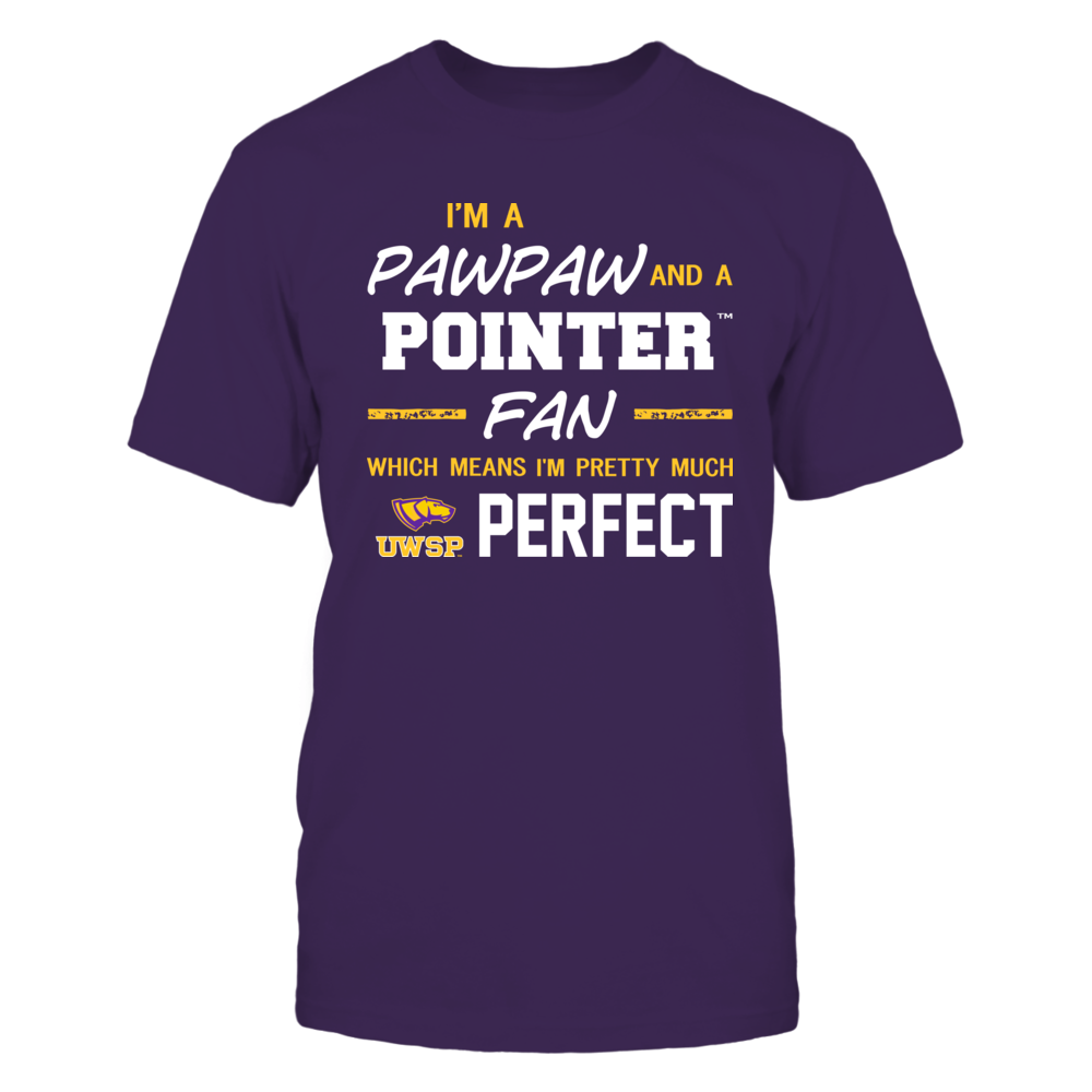 Wisconsin-Stevens Point Pointers - Perfect Pawpaw - Team Front picture
