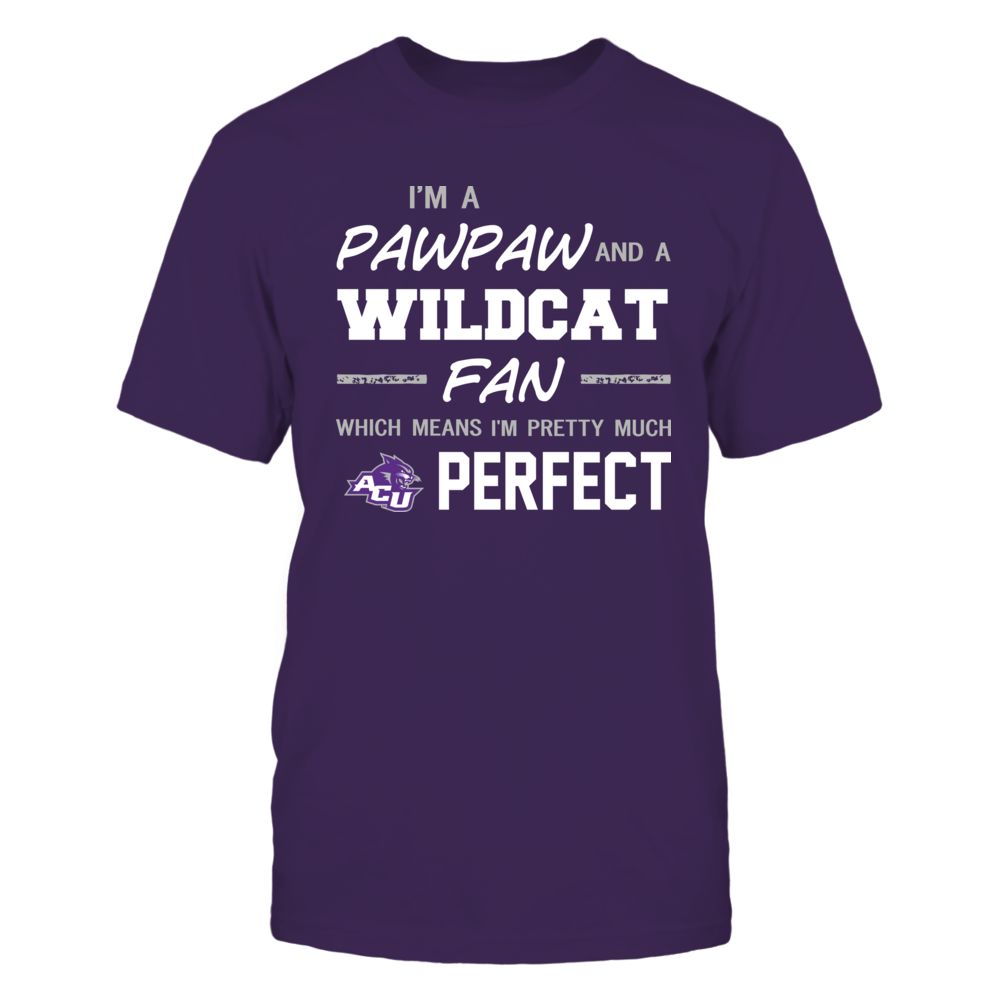 Abilene Christian Wildcats - Perfect Pawpaw - Team Front picture