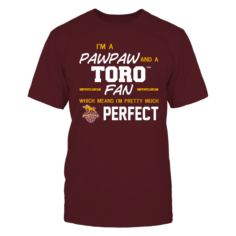 Cal State Dominguez Hills Toros - Perfect Pawpaw - Team Front picture