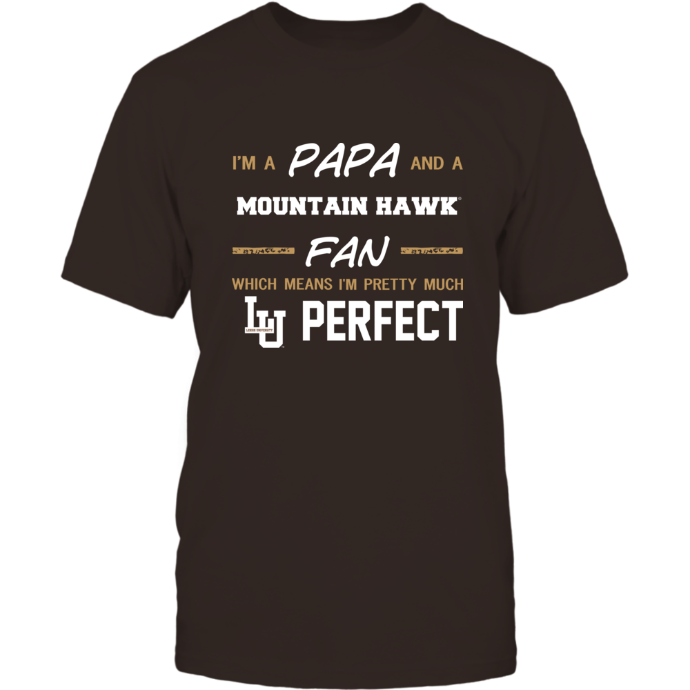 Lehigh Mountain Hawks - Perfect Papa - Team Front picture