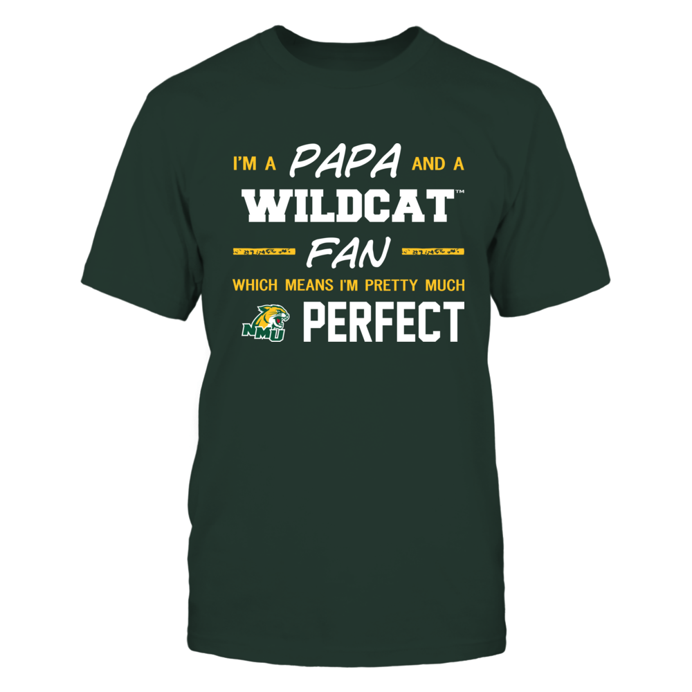 Northern Michigan Wildcats - Perfect Papa - Team Front picture