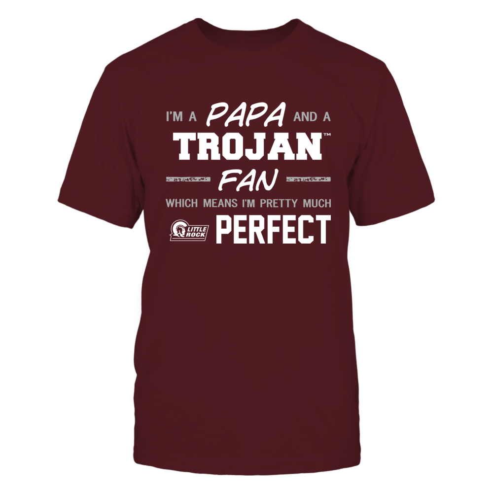 Arkansas Little Rock Trojans - Perfect Papa - Team Front picture