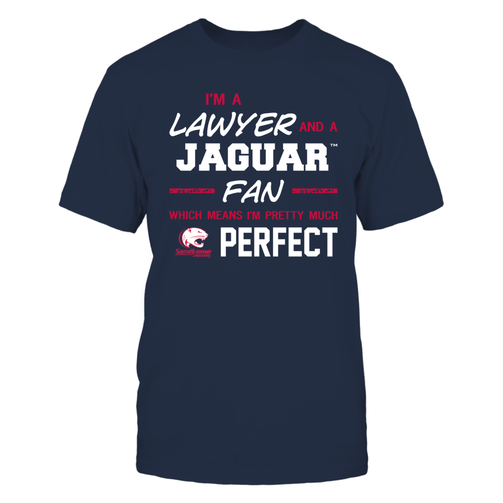South Alabama Jaguars - Perfect Lawyer - Team Front picture