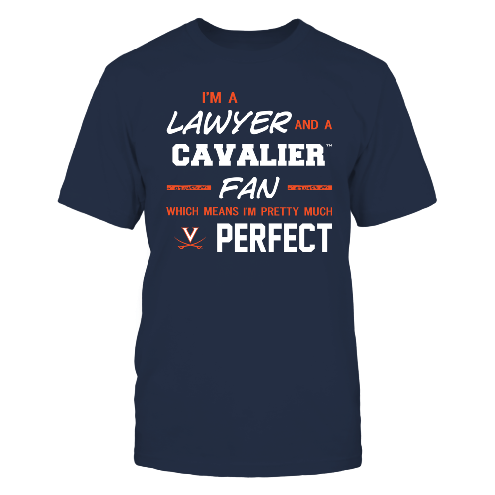 Virginia Cavaliers - Perfect Lawyer - Team Front picture