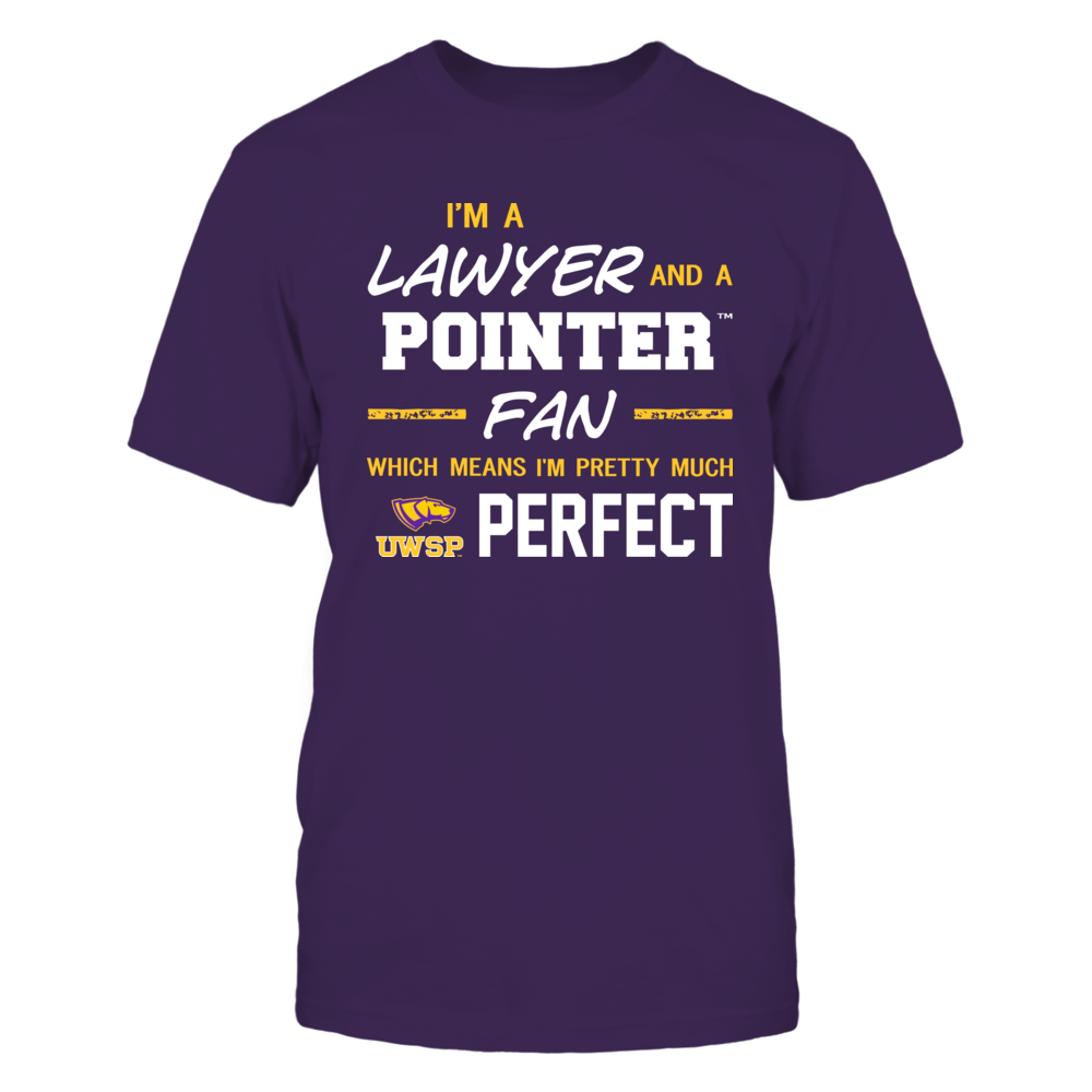 Wisconsin-Stevens Point Pointers - Perfect Lawyer - Team Front picture