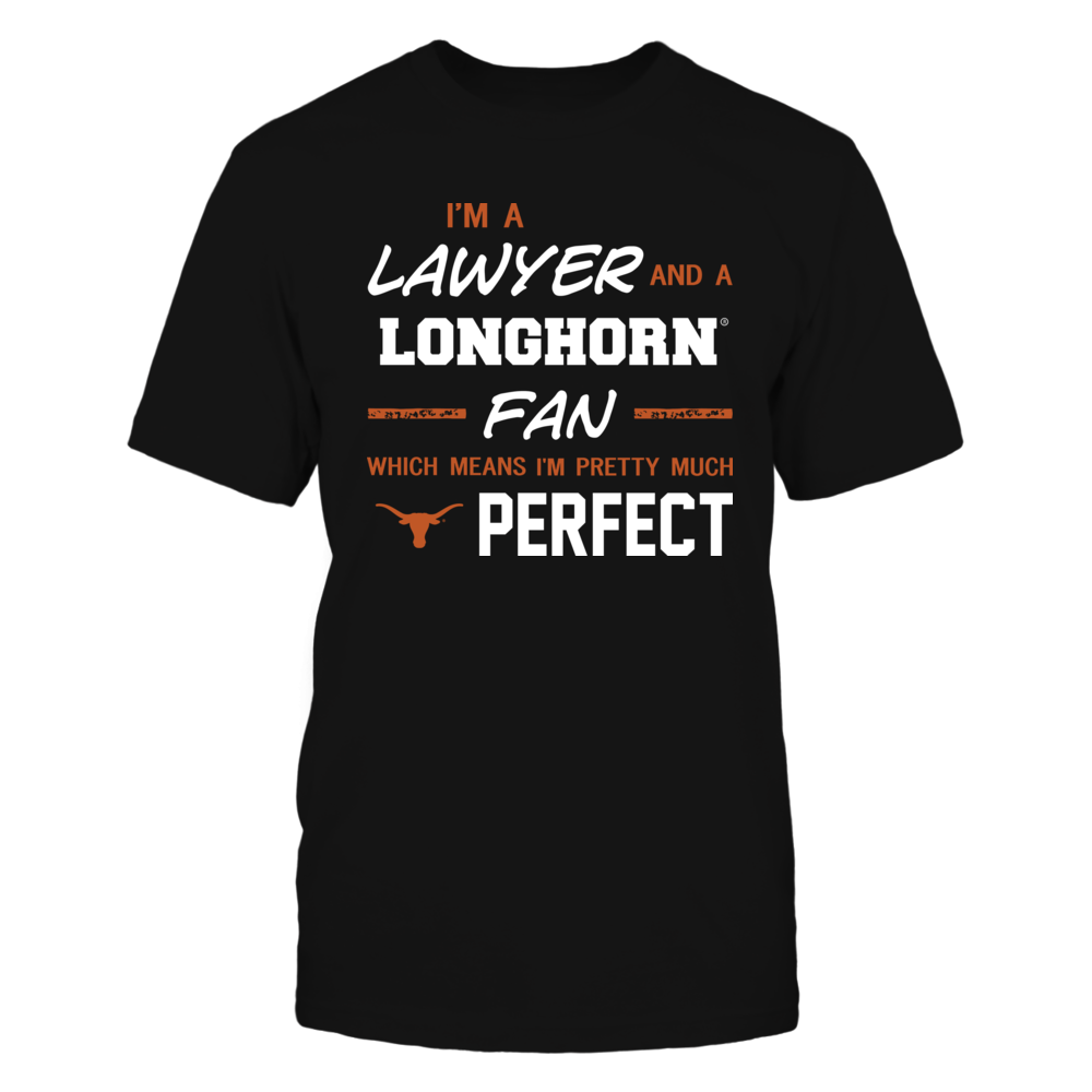 Texas Longhorns - Perfect Lawyer - Team Front picture