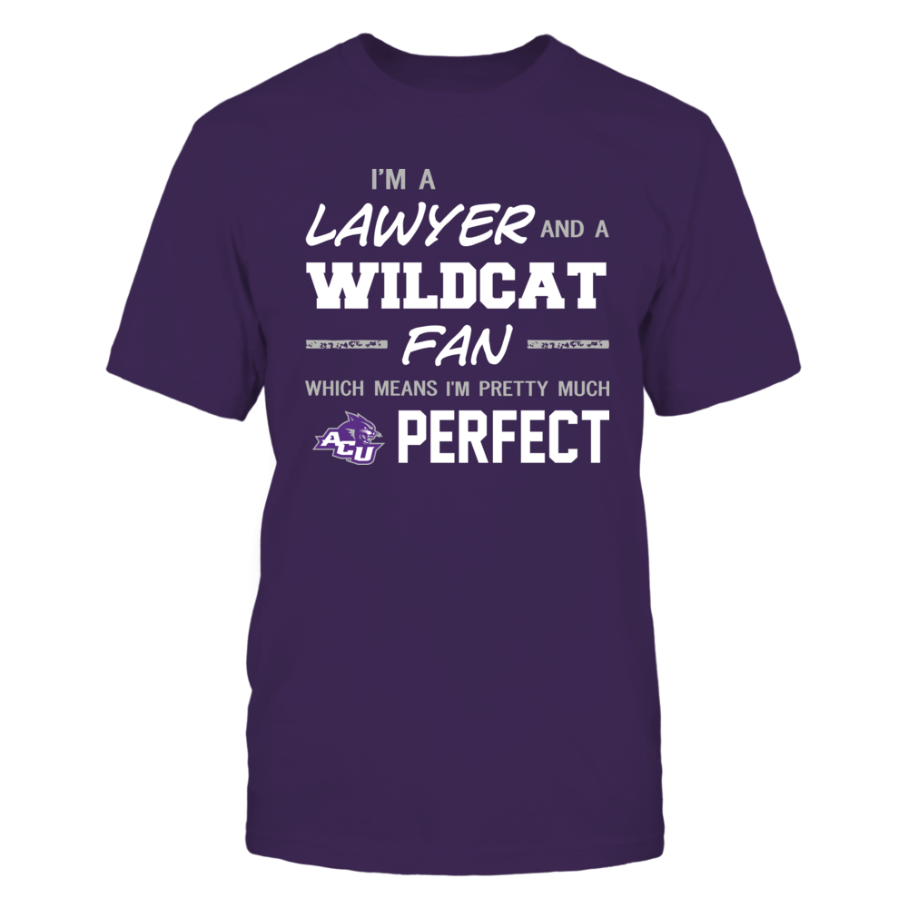 Abilene Christian Wildcats - Perfect Lawyer - Team Front picture