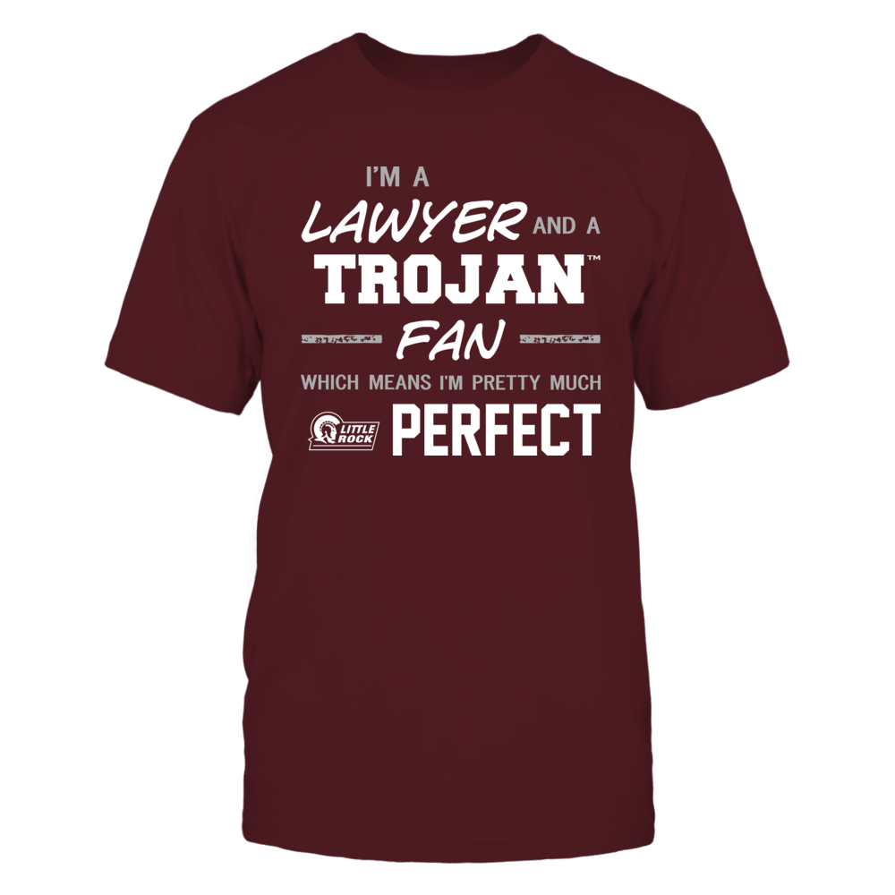 Arkansas Little Rock Trojans - Perfect Lawyer - Team Front picture