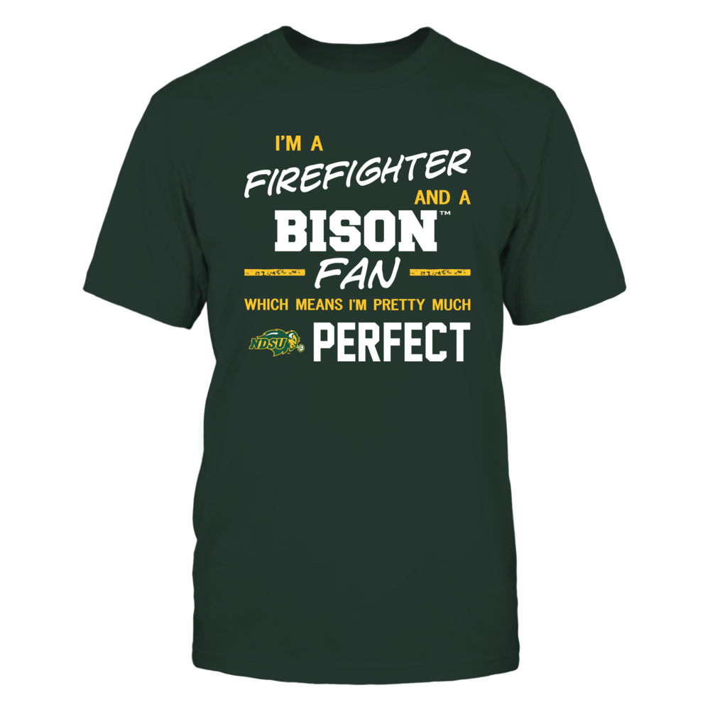 North Dakota State Bison - Perfect Firefighter - Team Front picture