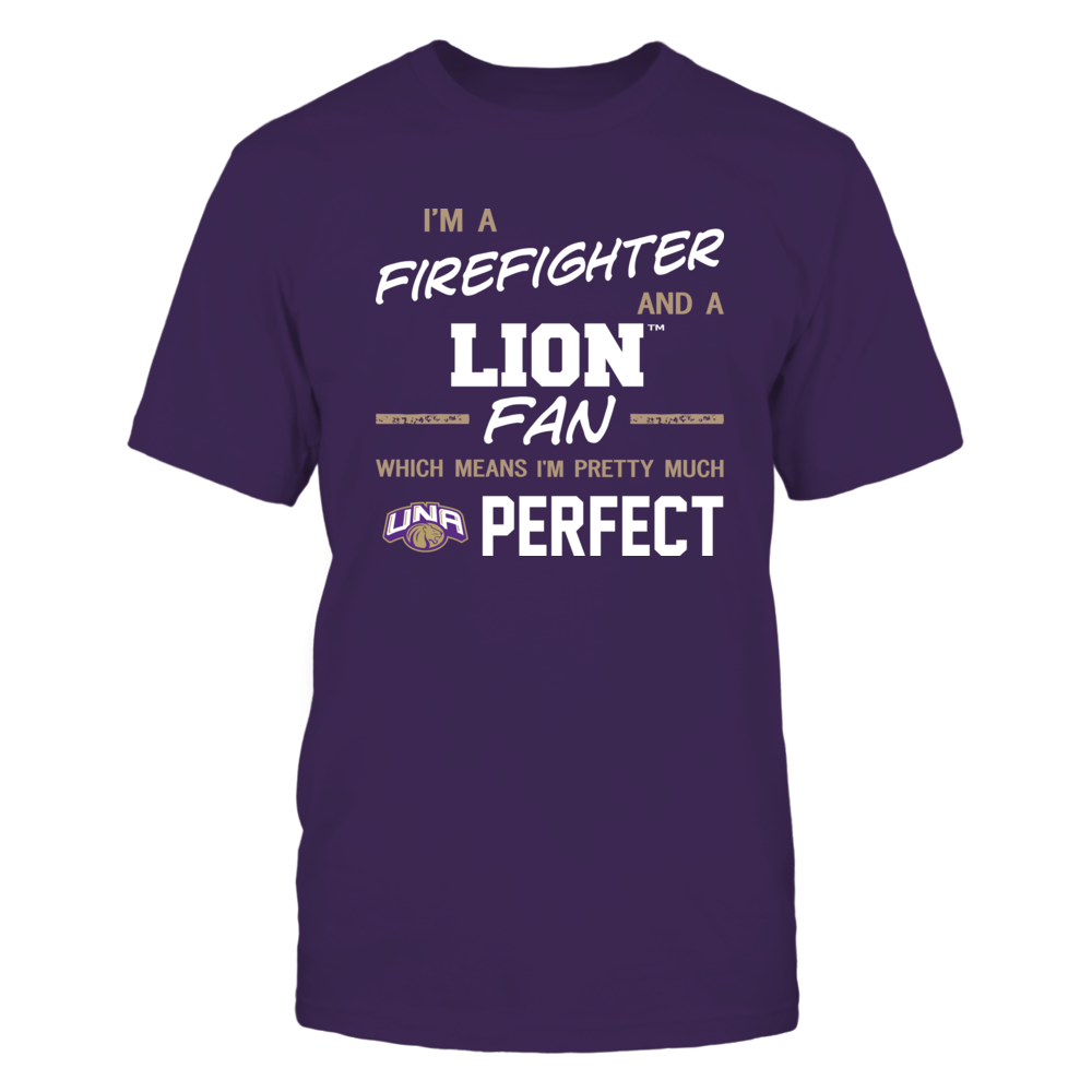 North Alabama Lions - Perfect Firefighter - Team Front picture