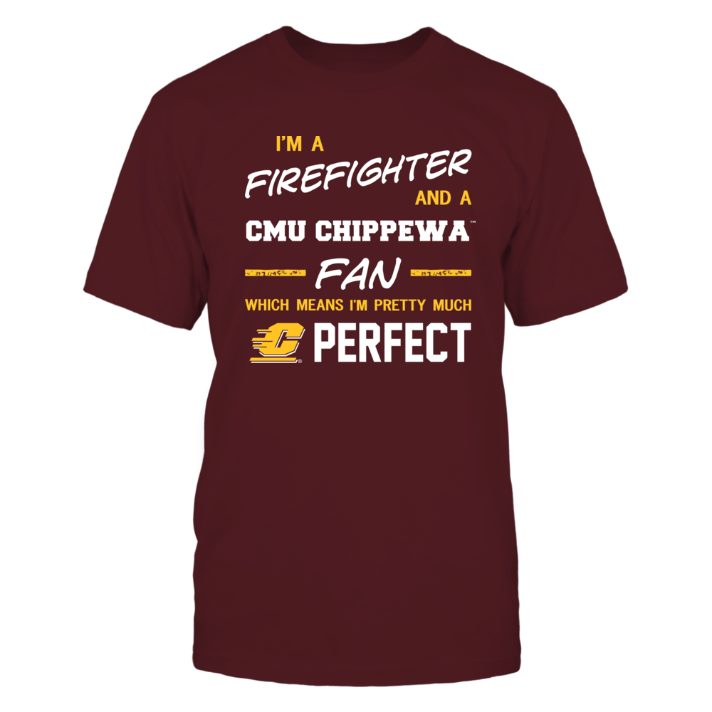 Central Michigan Chippewas - Perfect Firefighter - Team Front picture
