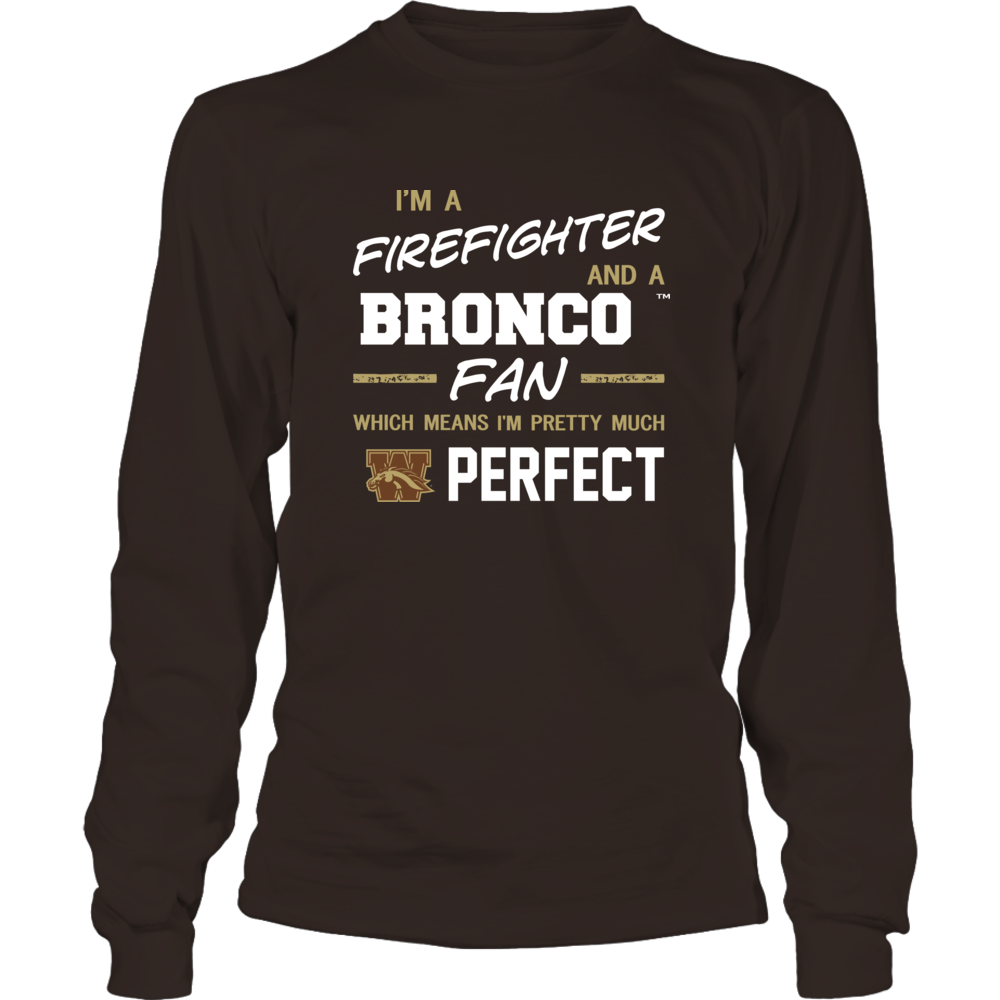 Western Michigan Broncos - Perfect Firefighter - Team Front picture
