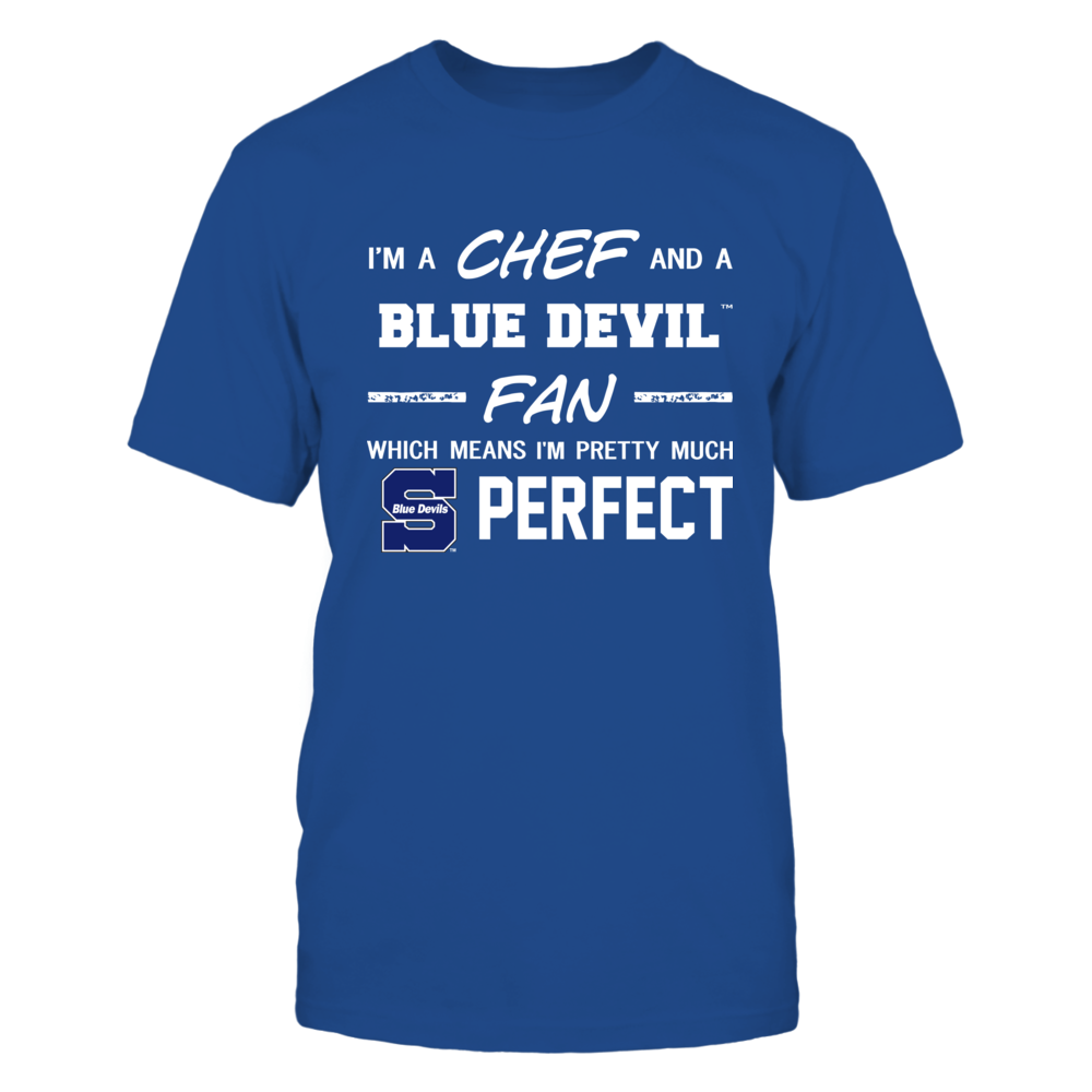 Wisconsin Stout Blue Devils - Perfect Chef - Team Front picture