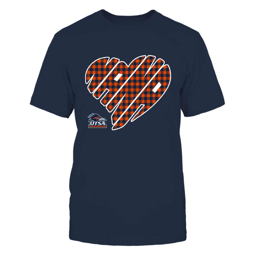 UTSA Roadrunners - Nana - Heart Shape - Checkered Front picture