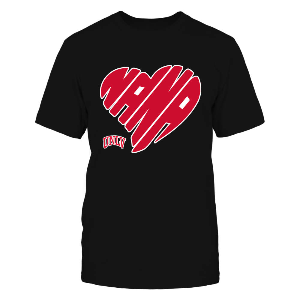 UNLV Rebels - Nana - Heart Shape - Checkered Front picture