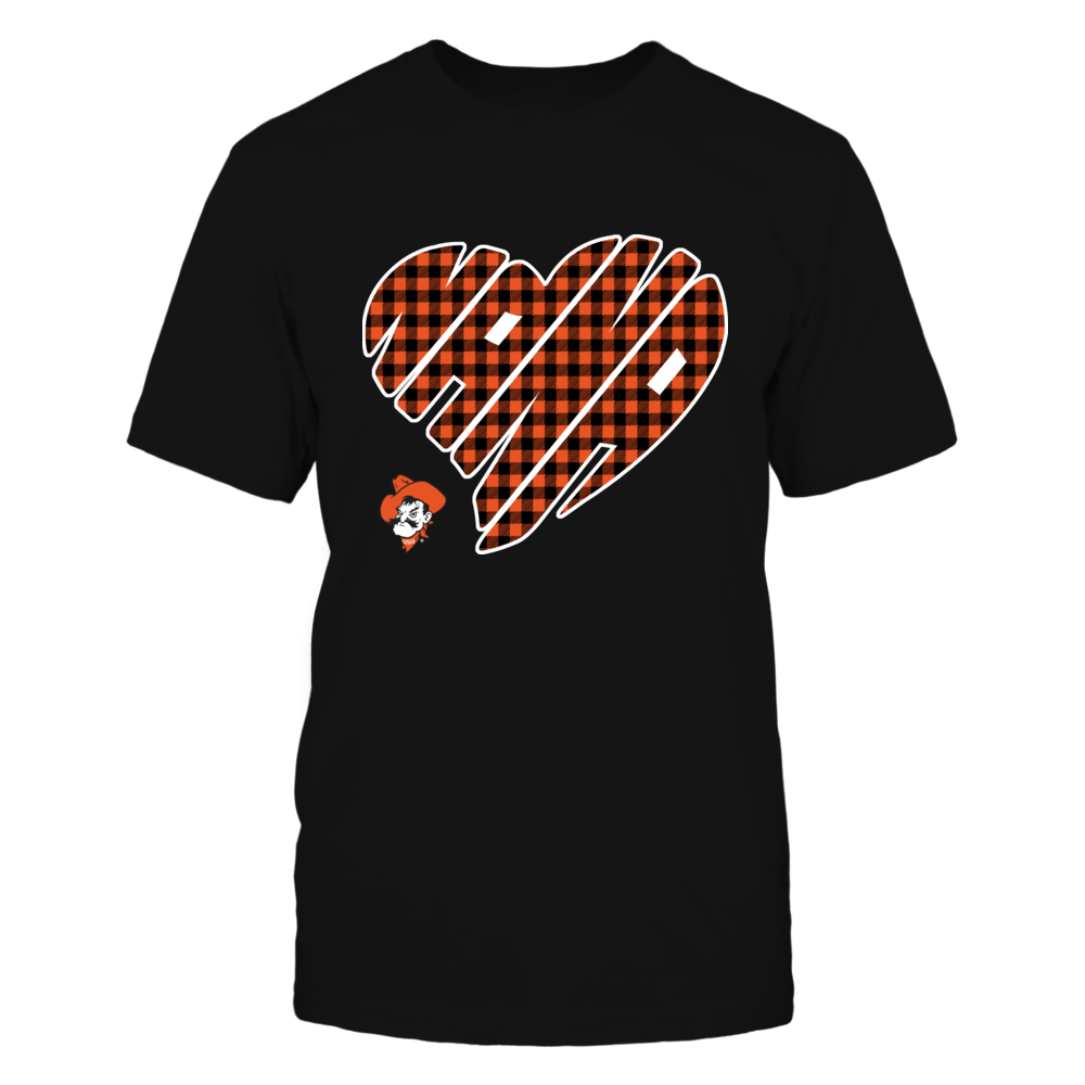 Oklahoma State Cowboys - Nana - Heart Shape - Checkered Front picture