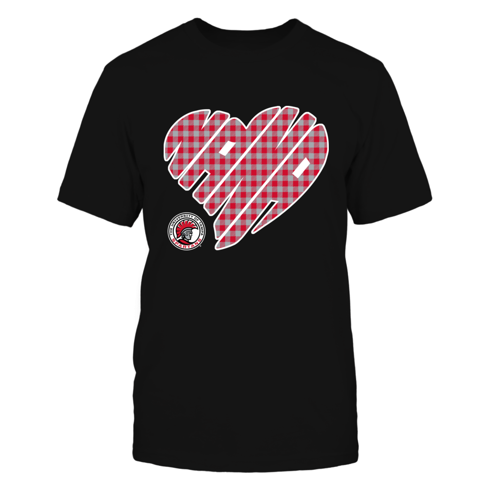 Tampa Spartans - Nana - Heart Shape - Checkered Front picture