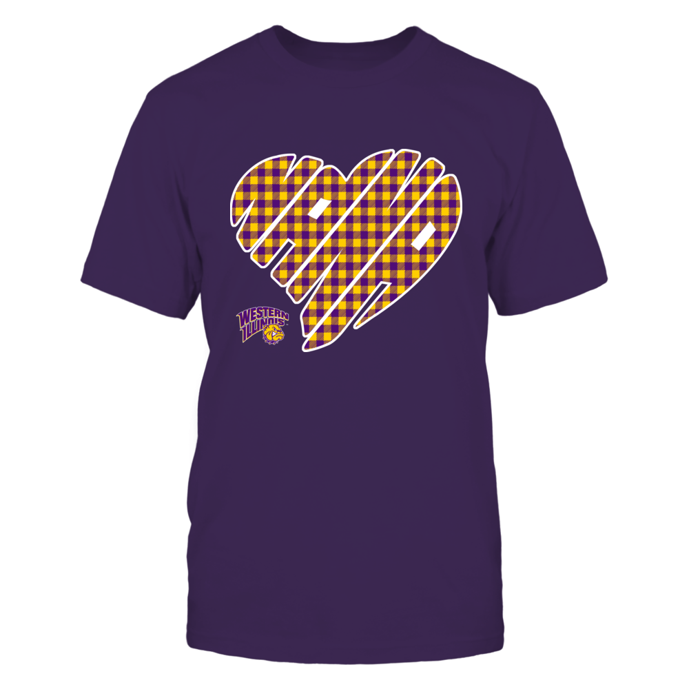 Western Illinois Leathernecks - Nana - Heart Shape - Checkered Front picture