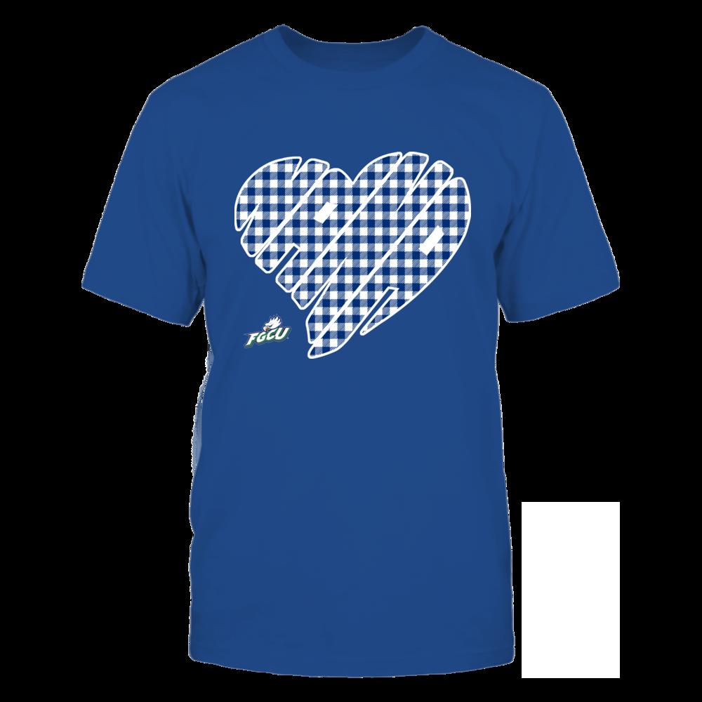Florida Gulf Coast Eagles - Nana - Heart Shape - Checkered Front picture