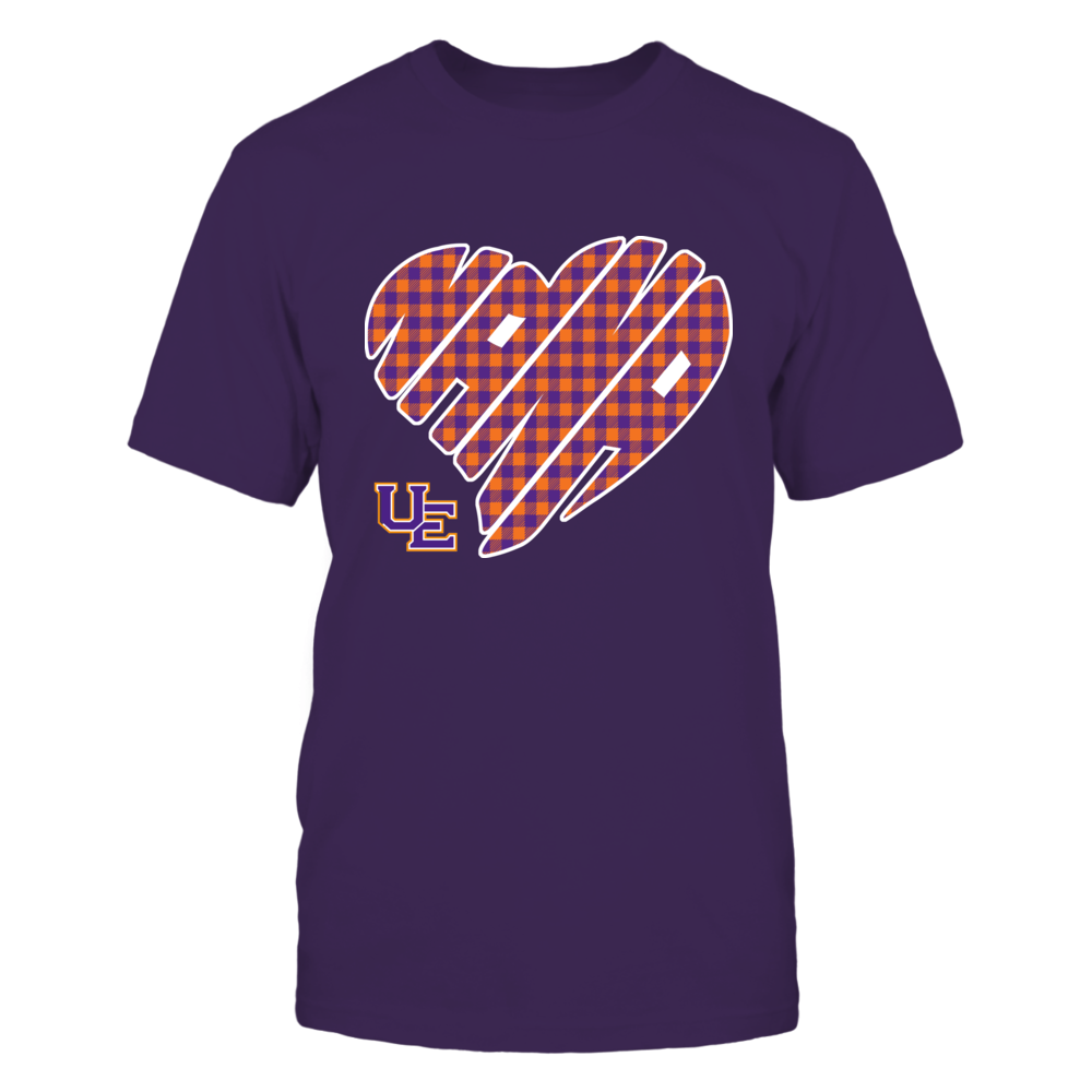 Evansville Purple Aces - Nana - Heart Shape - Checkered Front picture