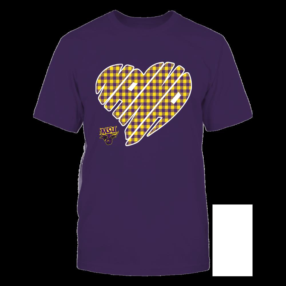 Minnesota State Mavericks - Nana - Heart Shape - Checkered Front picture