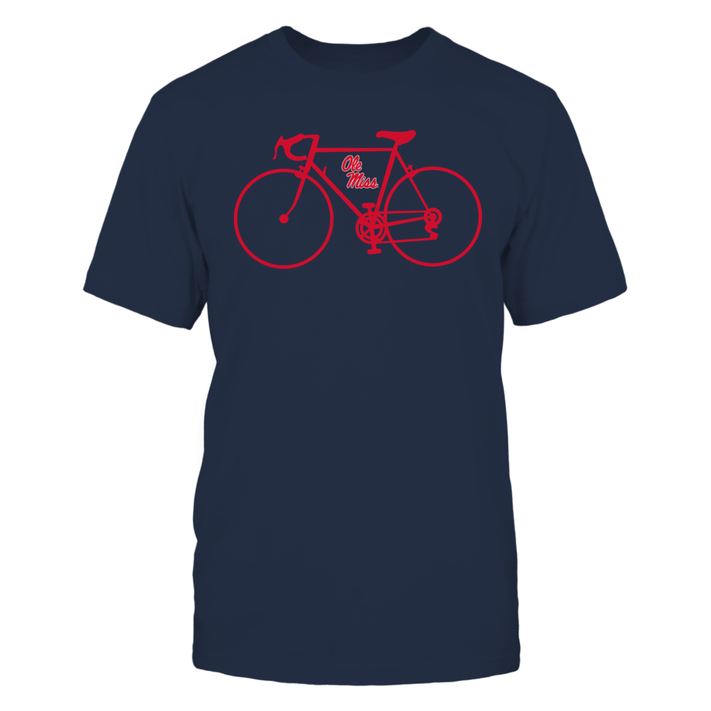 Ole Miss Rebels - Bicycle - Team Front picture
