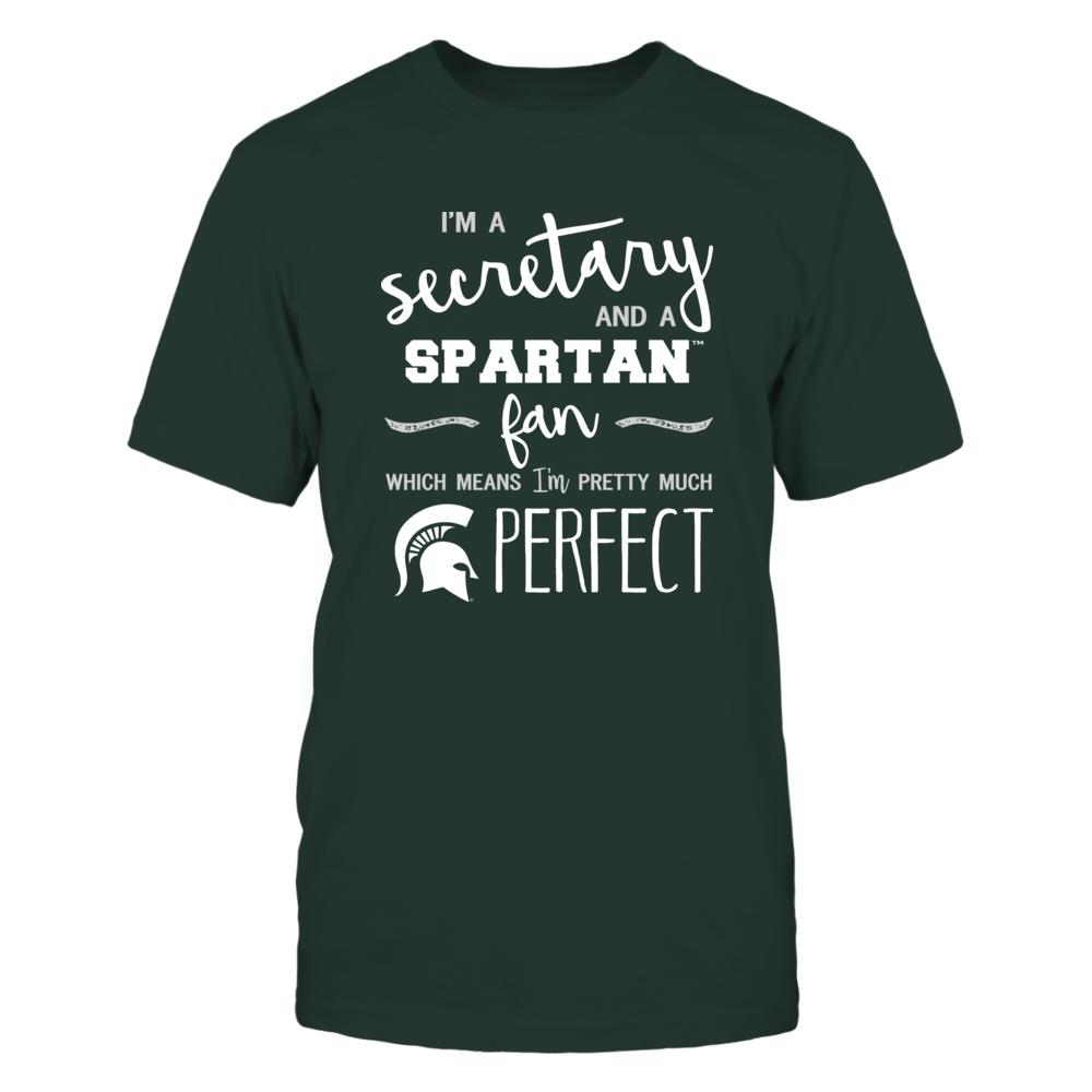Michigan State Spartans - Perfect Secretary - Team Front picture