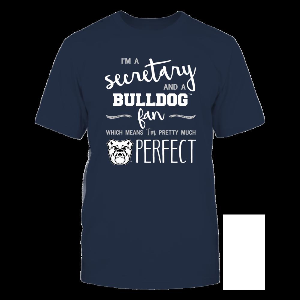 Butler Bulldogs - Perfect Secretary - Team Front picture